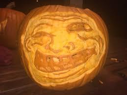 Meme Pumpkin - meme evil on a pumpkin by justarandomfoxinahat on deviantart