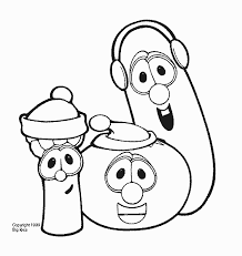 veggie tales thanksgiving coloring pages