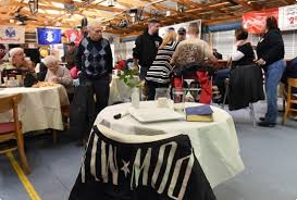 Fallen Comrade Table by Once A Month Veterans Get Free Dinner At Heidelberg Township
