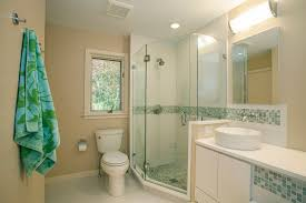 corner shower stall bathroom asian with bath lighting cabinets