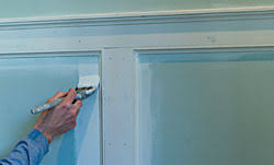 Wall Wainscoting The Painted Surface How To Paint New Wainscoting