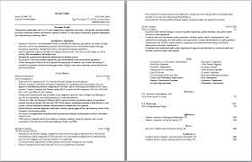 Sample Two Page Resume by Director Of Operations Resume Sample Recentresumes Com