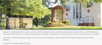 what is a moravian fulp moravian church home