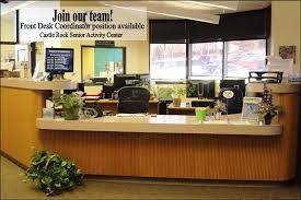 front desk jobs hiring now now hiring front desk coordinator castle rock senior activity center
