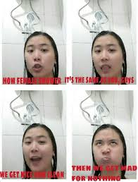 Shower Meme - the how different groups of people shower meme will satisfy all