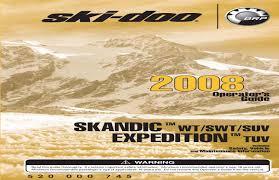 ski doo 2008 by eacf issuu