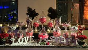 Pink And Black Candy Buffet by Candy Table Black Red And White Wedding Candy Bars Pinterest