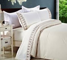 kosmos home textile lace bedclothes embroidered 4pcs duvet cover