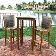 Bar Height Patio Table And Chairs Unique High Patio Table Or Impressive Outdoor Bar Table Outdoor