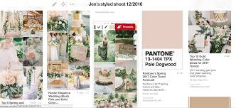 Pantone Color 2017 Spring New Pantone Colors Of 2017 Are Fantastic For A Wedding Jen