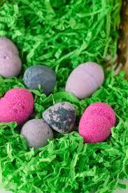 easter egg bath bombs savvy naturalista