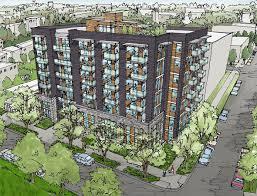 Brick Apartment Building Illustration And Modern Apartment - Apartment building designs