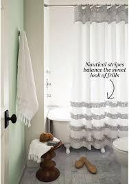 Easy No Sew Curtains Diy Bathroom Curtains Brightpulse Us