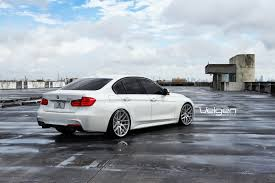 matte white bmw 2012 bmw f30 velgen wheels madwhips