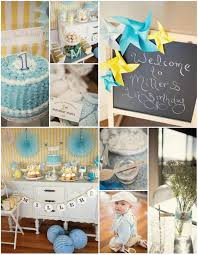 birthday boy ideas vintage yellow and blue birthday party planning ideas supplies