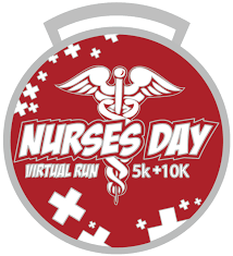 halloween medals nurses day u2013 may 6 2016 virtual race series