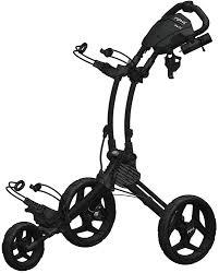 clicgear rovic compact push cart charcoal black golf carts