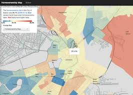 Map Boston Area by Neighborhood Maps For Homeownership Income And Rent Burden