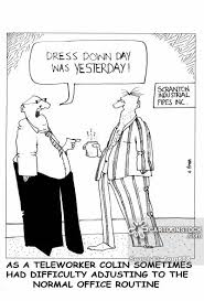 dressing down cartoons and comics funny pictures from cartoonstock