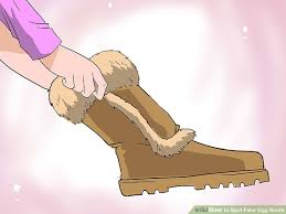 do womens ugg boots run big how to spot ugg boots 9 steps with pictures wikihow