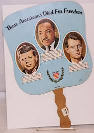 church fan these americans died for freedom funeral church fan kennedy