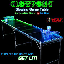 Custom Beer Pong Tables by Glow In The Dark Beer Pong Table Is The Blitzed Shenanigans Tron