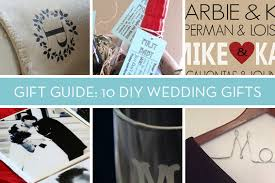 wedding gift diy 10 creative diy wedding and shower gifts curbly