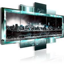 Bilder Schlafzimmer Amazon Amazon De Murando Bilder 200x100 Cm Leinwandbilder Fertig
