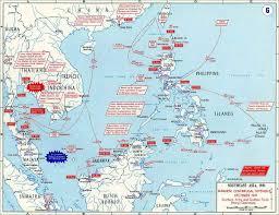 Ww2 Map Japanese Centrifugal Offensive December 1941 Ww2 Pinterest