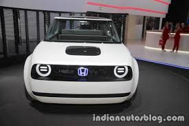 Honda Urban Honda Urban Ev Concept Grille Headlights Design At Iaa 2017
