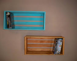 a pair crate shelvingwood crate shelving wood crate