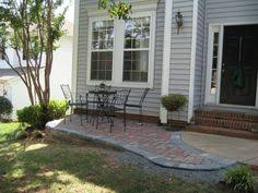Front Patio Design Yard Design Ideas Front Patio I The Idea Of A Low Wall