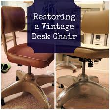 restoring a vintage desk chair well groomed home