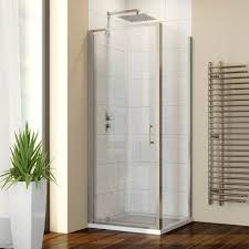700mm x 700mm pivot shower enclosure with side panel