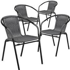 Gray Patio Furniture Sets Grey Patio Dining Chairs You U0027ll Love Wayfair