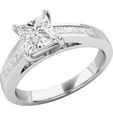 inele logodna aur alb inel de logodna din aur alb de 18 kt cu diamante princess hpd233w