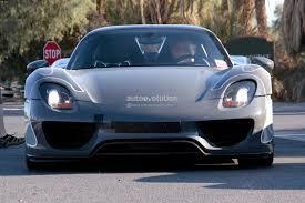 Porsche 918 Blue Flame - spyshots porsche 918 spyder spotted testing in us autoevolution