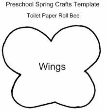 bumble bee template for kids