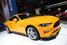 rebooted ford mustang gets neighbourly at 2017 frankfurt show by