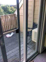electronic sliding glass dog door windows how can i remove the side glass pane from a patio