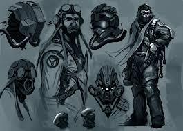 helmet design game the hand that feeds pilot helmet sketches