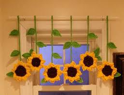 Sunflower Valance Curtains 143 Best Sunflower Curtain Images On
