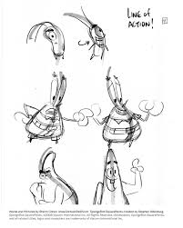 cartoon snap how to draw lively poses spongebob tip sheets