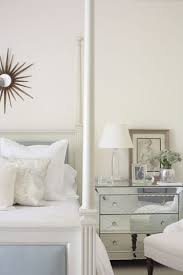 Mirrors Above Nightstands Mirrored Bedside Table Design Ideas