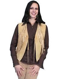 womens western vest western vests fringe vests