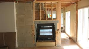 installing two way fireplace fill home pinterest house plans