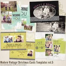 modern vintage christmas cards 5 7th modernchristmas5 4 00