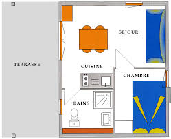 m2 to sq ft 21 m2 226 sq ft 1 bedroom chalet with covered terrace cing