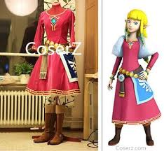 Princess Zelda Halloween Costume Coserz Custom Cosplay Costume Princess Dress U0026 Cosplay Wig