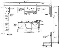 Kitchen Design Plans Ideas Open Kitchen Floor Plans Exle Homes Zone